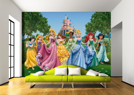 Disney Premium wall mural Princesses